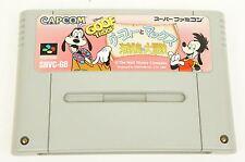 Goof Troop Goofy Max SNES Capcom Nintendo Super Famicom Japan USED