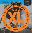 D'Addario EXP110 Coated Electric Guitar Strings Light 10-46