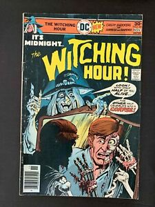 WITCHING HOUR  #66  DC COMICS 1976 FN NEWSSTAND