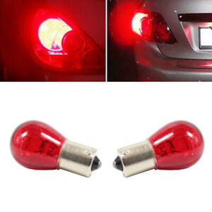 2pcs 1156 Red Bulbs Light 12V 21W PY21W BAU15S Car Brake Stop Tail Lamp Light S