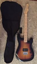 Davison Electric Guitar w/Case Only-Eb2350Vspk-Brand New With A Ding-Very Nice!