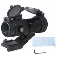 New Tactical 4 MOA Red Green Dot Sight Scope Hunting Rifle Scope Rail PEPR Mount