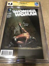 Wonder Woman 39 CGC 2XSS 9.8 David Meredith Finch Variant Justice League Movie