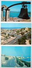 LOT OF 3 VINTAGE UNUSED POST CARDS GREECE ***** 3 CARTES POSTALES DE LA GRÈCE