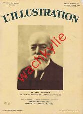 L'illustration n°4602 du 16/05/1931 Paul Doumer président Hoggar Ads Charlot