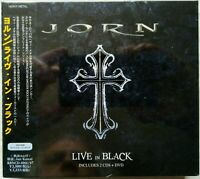 Jorn Lande - Live in Black - Sweden Rock 2010 Japan Digi 2 CD + DVD + Bonus Dio