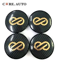 4pc 69mm/ 64mm Grid Enkei Wheel Center Caps Emblem