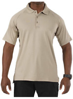 5.11 Men's Performance Short Sleeve Tactical Polo - Style 71049 - Medium - Tan