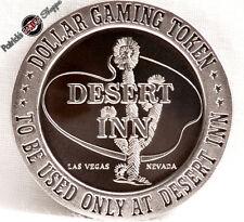 $1 PROOF-LIKE SLOT TOKEN DESERT INN CASINO 1966 FM MINT LAS VEGAS NEVADA COIN