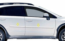 4PC PAINTED BODY SIDE MOLDINGS FITS 2013-2018 SUBARU CROSSTREK XV 4DR