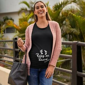 Baby Announcement TShirt Women's Baby on Board 2022 Tee Baby Shower Gift