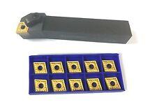 Drehhalter MCLNR 2525M12 25x25  Klemmhalter rechts + 10 WSP CNMG120408 NEU OVP