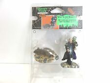 Lemax 2008 Retired Spooky Town Halloween, WHAT SCARES MONSTERS (SET OF 2) New