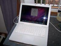 Apple MacBook A1181 13 inch Laptop 2GHZ, 1GB RAM, 80GB HD OS 10.6.3