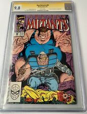 New Mutants 88 CGC 9.8 NM/Mint~SIGNED LIEFELD~2nd Cable