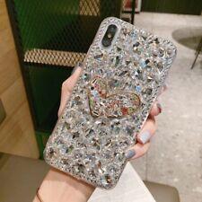 Bling Heart Love Glitter Diamond Rhinestone Case for iPhone 11 X MAX XR 7 8 Plus