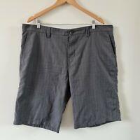 Billabong Mens Chino Shorts Grey Flat Front Size 40  with Pockets