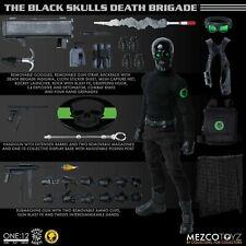 Mezco Toyz One:12 Collective Black Skulls Death Brigade MDX Action Figure