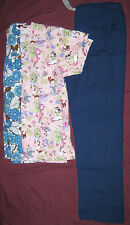 PRE-OWNED MEDICAL SCRUBS - LOT OF 3 - SIZE: M