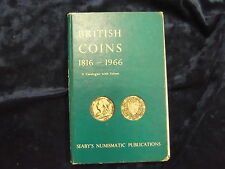 BRITISH COINS 1816- 1966, SEABY'S NUMISMATIC PUBLICATIONS * UK POST £3.25 *