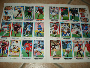 24 Figurines Kinder And Ferrero Guerin Sporty Serie A 1993/94 Sheet 8