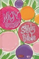 NKJV Illustrated Study Bible for Kids by Holman Bible Staff (2013, Hardcover)