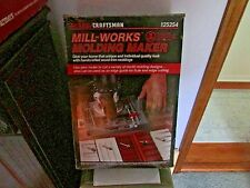 Craftsman Molding Maker Plate Kit mill-works wood making NEW in Box