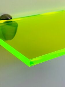Bright Coloured Shelving Perspex Acrylic Modern Displays for The Home Or Office.