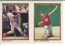 1991 O-Pee-Chee Premier Cincinnati Reds Team Set