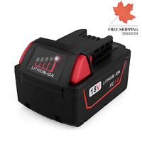 18V 5 0Ah Replacement Lithium Ion Battery for Milwaukee M18 XC High Capacity ...