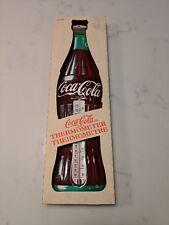 Vintage Coca-Cola 1980s RARE ORIGINAL BOX Thermometer
