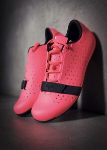 Rapha Road Cycling Shoes Limited Edition Coral/Pink BNWT