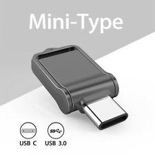 Waterproof 32GB 64GB 128GB Type-C Dual OTG USB 3.0 Flash Drive Mini Memory Stick