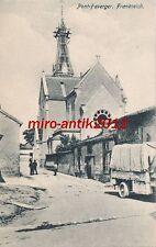 AK, Foto, Frankreich, Pont-Faverger - Blick auf Kirche, 1915; 5026-79