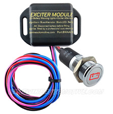 ALTERNATOR EXCITER & SS LED WARNING SIGNAL HOT ROD HOLDEN FORD FALCON GT XR6 XR8