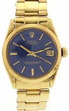 Midsize Vintage Rolex Datejust 18K Yellow Gold 6824