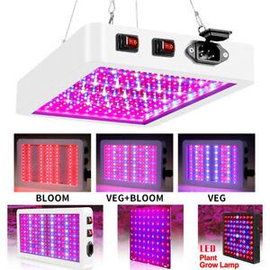 LED Wachstumslampe Wuchs Vollspektrum Grow Pflanzenlicht Pflanzen Lampe 25W-80W