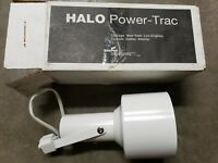 NEW Halo Cooper 000704PX L704P White Low Voltage Gimbal Ring Power Trac Fixture