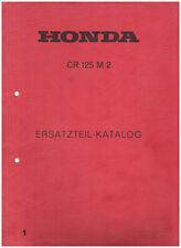 Honda Ersatzteilkatalog CR 125 M2