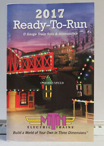 MTH 2017 READY TO RUN TRAIN CATALOG o gauge lionel standard dealer BOOK NEW