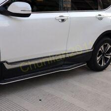 Steel door Side Body Molding Cover Trim for 2017-2018 Honda CRV CR-V 6pcs