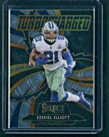 2020 Panini Select TURBOCHARGED Ezekiel Elliott Insert #T3 Cowboys Football Card
