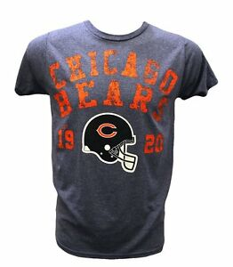 Chicago Bears NFL Junk Food Men's Distressed Graphic Style 74 T-Shirt