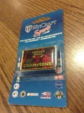"1998 Chicago Bulls NBA Champions 1 5/8"" Pin New on Card Wincraft"