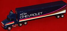 ERTL Blue Chevrolet GMC W.A. Conventional Aero 18 Wheeler 1:64 scale