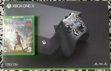 Microsoft Xbox One X 1TB 4k Console + Controller + Assassins Creed Odyssey boxed