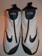 NIKE MEN BASKETBALL SHOES SIZE 8 VTG OG 1999 SON OF GLOVE White Blue Gary Payton