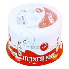 DVD -R Maxell 120 minuti 4.7GB PRINT 16X Stampabili inkjet Printable 275701