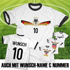 EM 2021 Deutschland 2020 Fußball T-Shirt Trikot mit Name und Zahl Wunschname