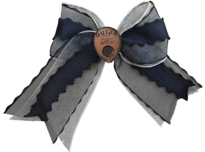 Se7en Deadly Spirit Ouija Planchette Board Goth Punk Occult Hair Bow Clip 5055-B